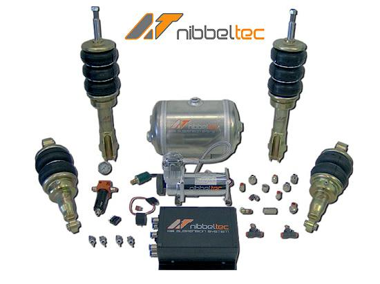 Kit suspension neumatica Nibbeltec VW Golf III 2EV