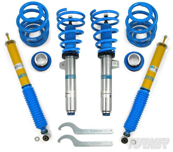 Suspensiones regulables Bilstein B16 PSS9 para Audi S4 03-