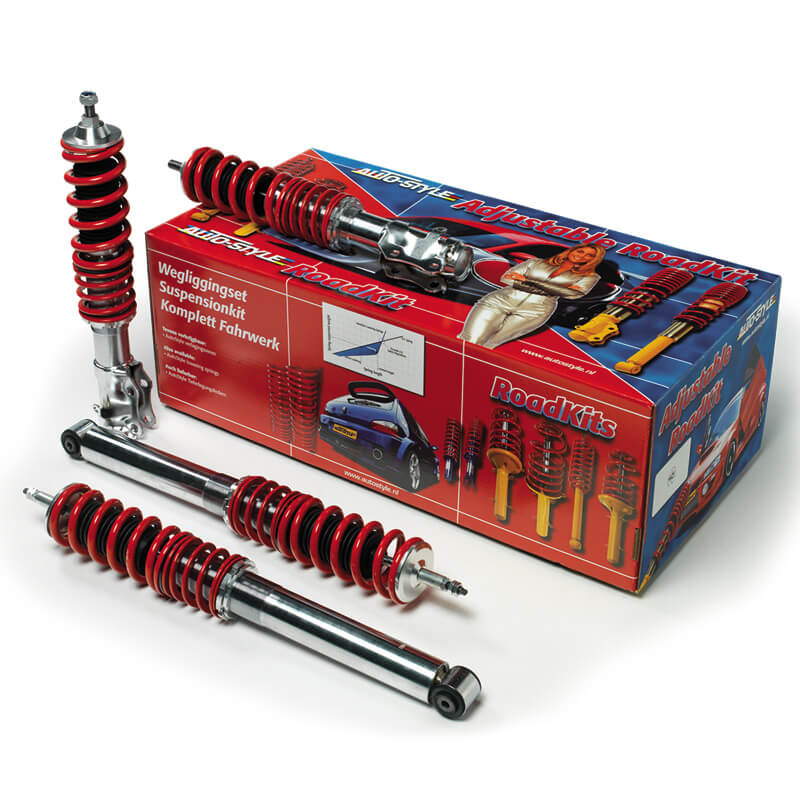 Kit suspension regulable roscada para Audi A4 8E Cabrio 2.0TFSi/