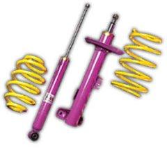 Kit KW Muelles + Amortiguadores -4 cm Chrysler 300C